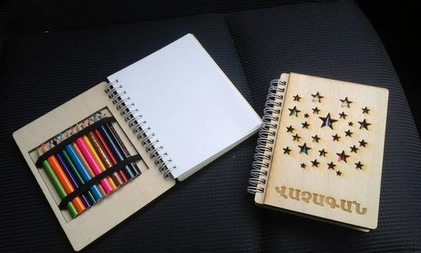 Անվանական նկարչական տետր մատիտներով copy